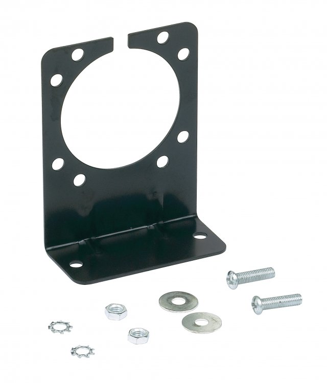 7 RV Blade and 6 Pole Round Mounting Bracket