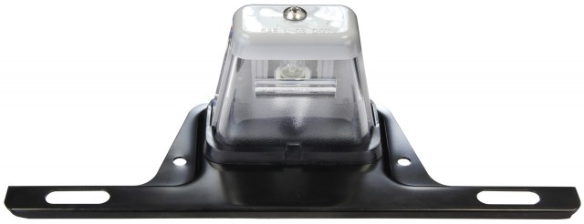 Hooded License Light with SS Bracket