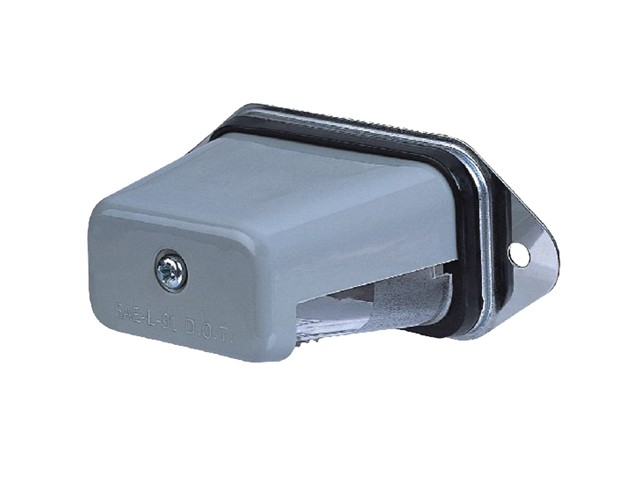 Hooded Surface Mount License Light
