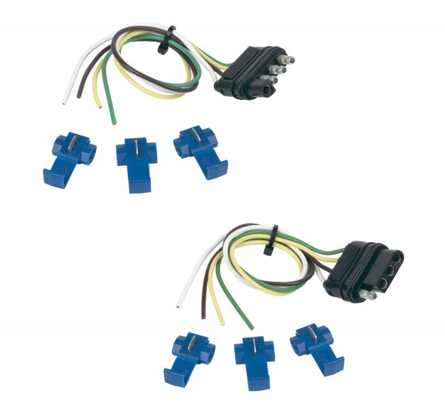 4 Flat Kit w/ splices (12
