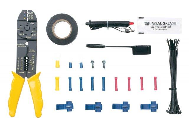 Trailer Wiring Installation Kit w/ Wire Tool (43 pcs)
