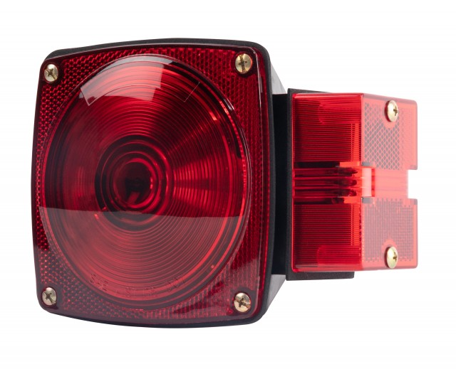 Submersible RH Over 80 Combination Trailer Light, Quick Connecting