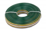 16/18 Gauge 4 wire bonded (25')