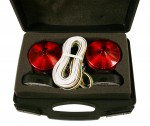 2-Sided Magnetic Trailer Towing Light Kit with Case