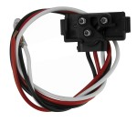 90 Degree 3-Wire Pigtail for Stop/Tail/Turn Lights
