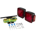 LED Submersible Combination Trailer Light Kit for Trailers Under 80
