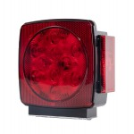 LED Submersible Combination Trailer Light - Left or Right Side Replacement Light